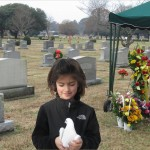 Cathrine at Grave site original size